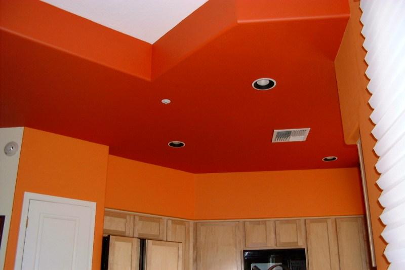 Interior Orange Paint Colors