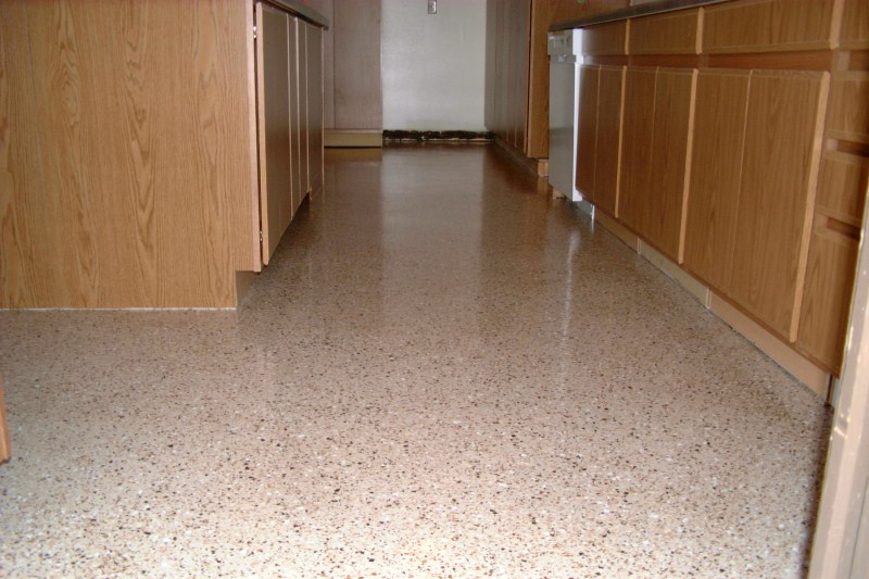 Charmant Church Kitchen Epoxy Floor