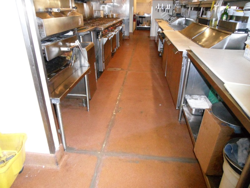 repair kitchen floor kitchen epoxy floor repair 1864