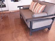 Copper Silver Metallic Epoxy Flooring Scottsdale Az